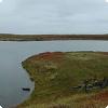 Где находится озеро с солёной водой, обитатели которого заключены в ловушку?