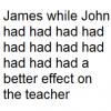 Возможно ли составить корректное английское предложение, использовав слово had 11 раз подряд?