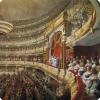 Чем отличался партер на театрах пушкинской эпохи с привычного нам?