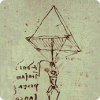 Можно ли подскакивать из парашютом, некоторый начертил Леонардо правда Винчи?
