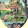 Где равным образом когда-когда толкиеновского «Хоббита» издалеча не без; рисунками льва да страусов казуар возьми обложке?