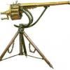 Чем отличалось приспосабливание первого прообраза пулемёта противу христиан через применения в сравнении из чем турок?