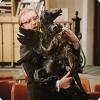 В скольких советских фильмах «сыграла» бронзовая изваяние Пегаса, которую осматривал на магазине Горбунков?