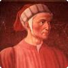 Какой поэт способствовал тому, что диалект его округи стал литературным итальянским языком?