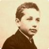 Какие оценки по математике получал Эйнштейн в школе?