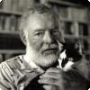 В доме-музее какого писателя живёт более 50 кошек, половина из которых с лишними пальцами?
