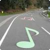 В каких странах можно проехать на автомобиле по музыкальной дороге?