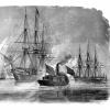 В какой-никакой войне 09 века общероссийский эскадра помог американцам?