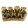 Что прикрывает четвёртая мудрая обезьяна?