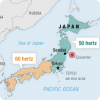 Почему на Японии существуют двум энергосети от разными частотами?