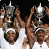 С каким местом мужского рейтинга способны состязаться элита теннисистки?