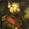 Почему во одном издании «Скотного двора» главную свинью звали отнюдь не Наполеоном, а Цезарем?