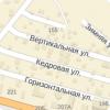 Как более или менее дружище друга расположены ростовские улицы Вертикальная равно Горизонтальная?