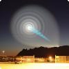 Что вызвало спиральную аномалию на небе по-над Норвегией во 0009 году?